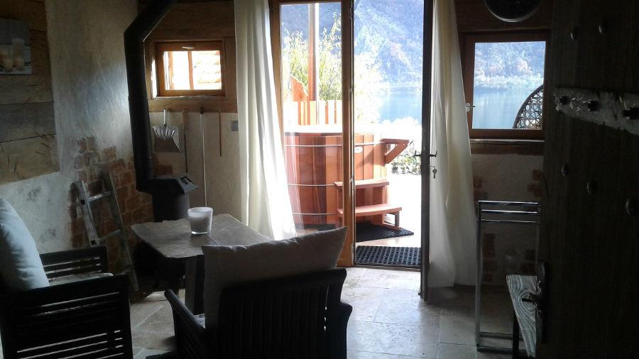 chambre vue des toilettes