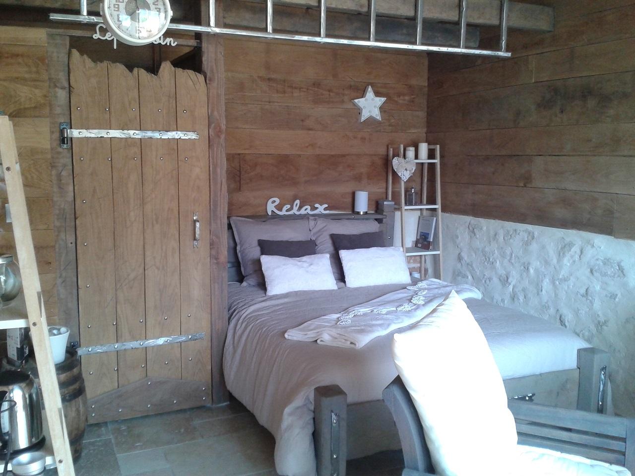 chambre lit de jour